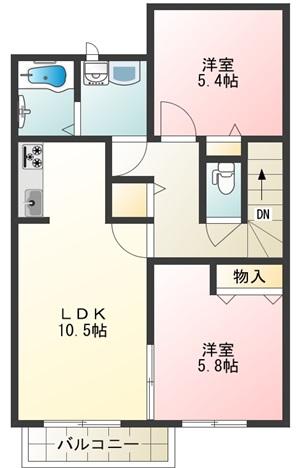 ペペロ・サトミーア202号室