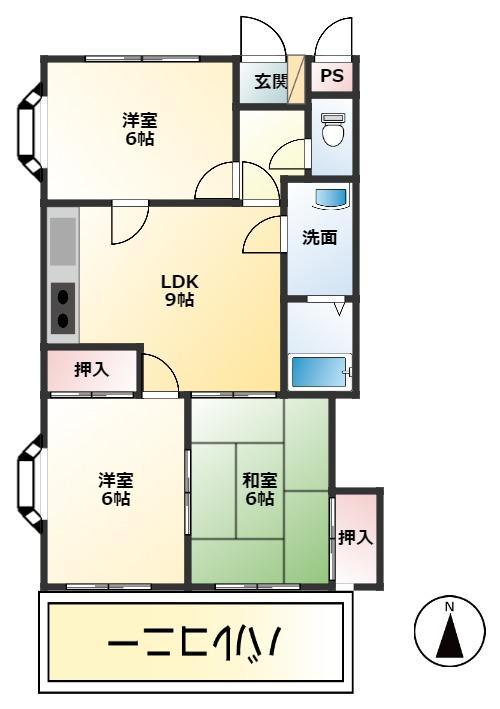 西砂グリーンマンション  105号室・201号室・205号室