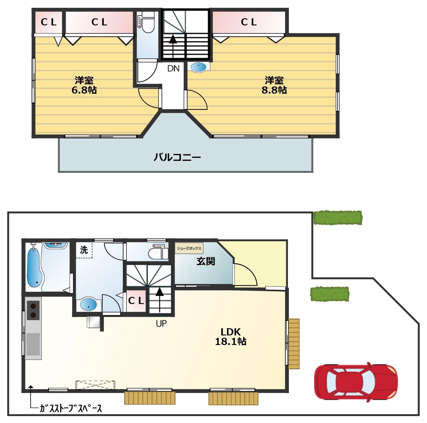 V8 ハウス
